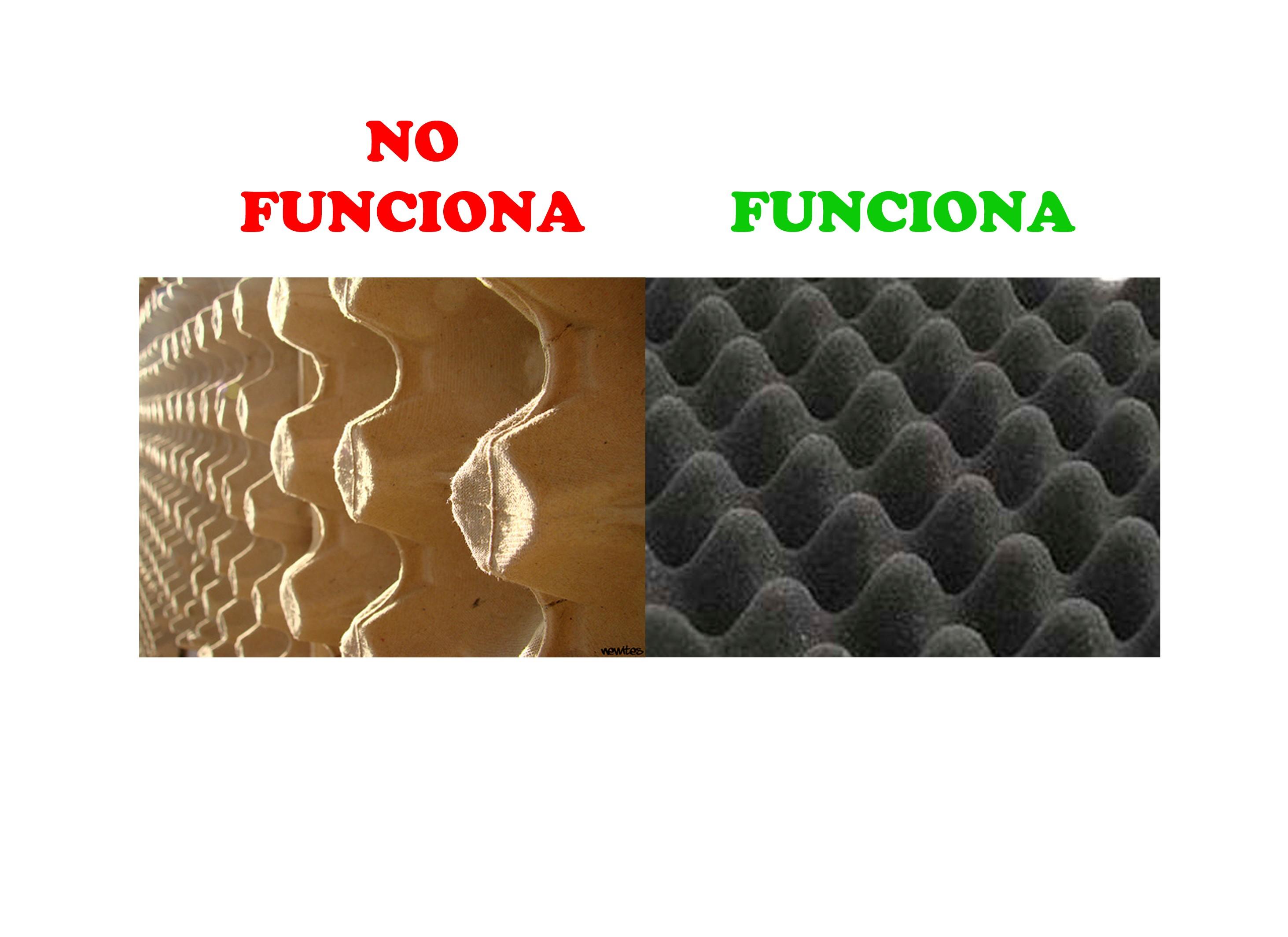 Huevera vs aislante ac stico - Aislante acustico para paredes ...